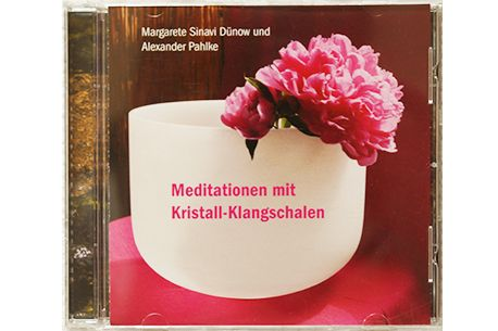 Audio CD | Meditationen mit Kristall-Klangschalen | Margarete Dünow